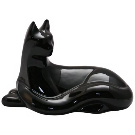 Haeger Potteries Sitting Cat Ceramic Sculpture