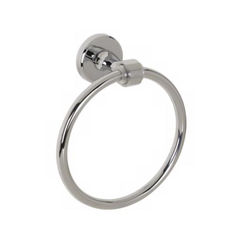 Philip Collection Polished Chrome Towel Ring