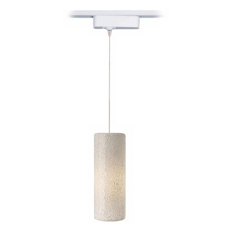 Veil White Glass LED Tech Track Pendant for Juno Track Systems