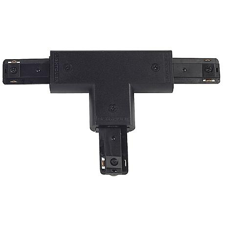 Lightolier Radius Track Black T Connector
