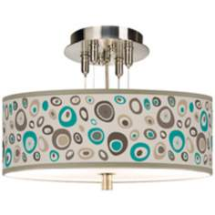 "Stammer Giclee 14"" Wide Ceiling Light"