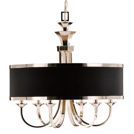 "Uttermost Tuxedo Collection 31"" Wide Drum Shade Chandelier"