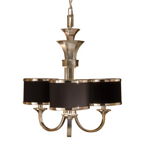 "Uttermost Tuxedo Collection 21"" Wide Three Light Chandelier"