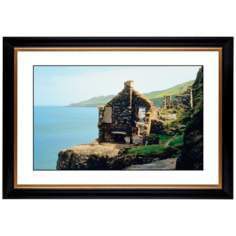 "Abandoned Seaside Cottage Giclee 41 3/8"" Wide Wall Art"