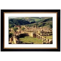 "Abbey Ruins Giclee 41 3/8"" Wide Wall Art"
