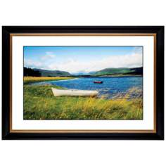 "Windswept Lake Giclee 41 3/8"" Wide Wall Art"