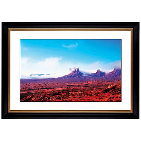 "Arizona Painted Desert Giclee 41 3/8"" Wide Wall Art"