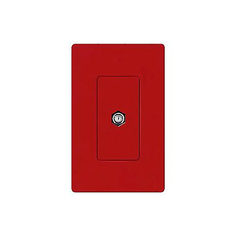 Lutron Diva Hot Red SC Cable Jack