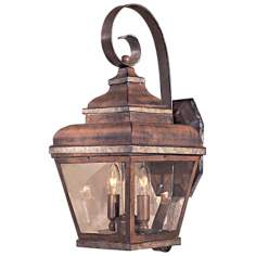 "Mossoro Collection 17 3/4"" High Outdoor Wall Light"