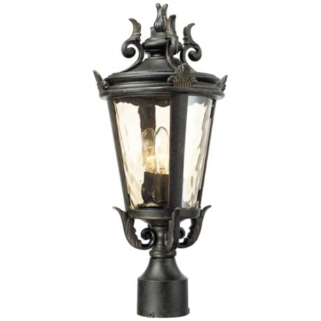 "Casa Marseille™ 20 1/2"" High Outdoor Post Lamp"