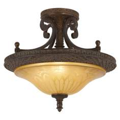 "Bob Mackie Julieta Collection 19"" Wide Ceiling Light Fixture"