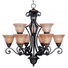 Symphony Collection Nine Light Chandelier