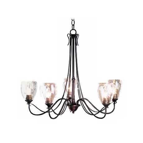 Hubbardton Forge Trellis Five Light Chandelier
