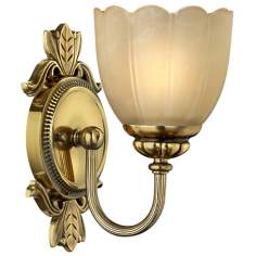 "Isabella Collection 9 1/2"" High Bathroom Light Fixture"