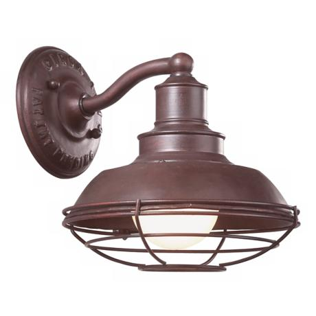"Circa 1910 Collection 8 1/4"" Wide Outdoor Wall Light"