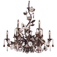 Ghia Collection Nine Light Chandelier