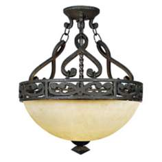 "La Parra Collection 16 1/2"" Wide Ceiling Light Fixture"