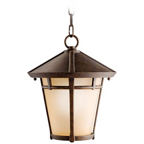"Kichler Melbern 13 1/2"" High Outdoor Hanging Light"
