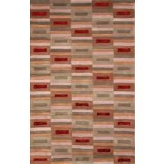 Brach Colored Bars Area Rug