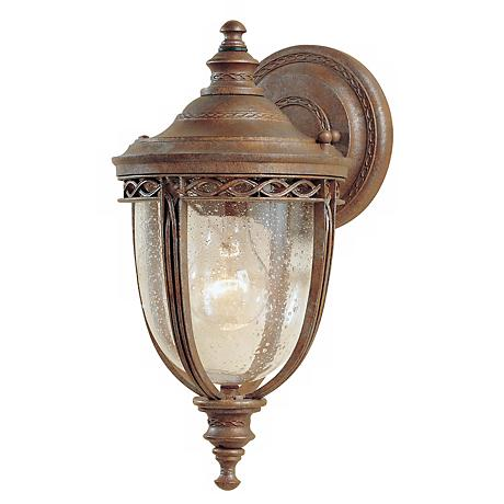 "Feiss English Bridle 13"" High Outdoor Wall Light"