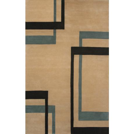 Geller Tan Contemporary Area Rug