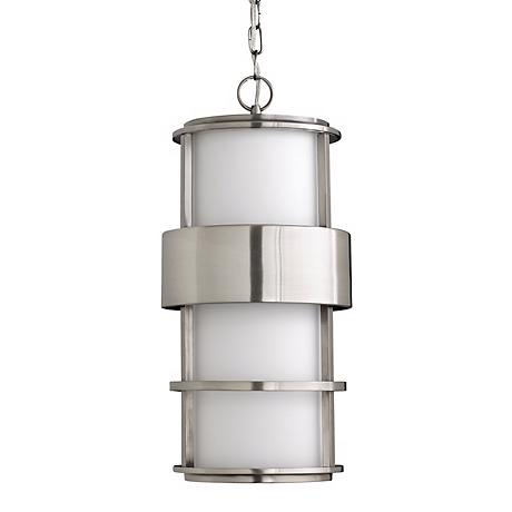 "Hinkley Saturn Steel 21 1/2"" High Outdoor Hanging Light"