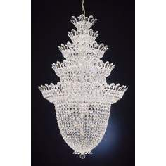 Schonbek Trilliane Collection 5-Tier Crystal Foyer Pendant