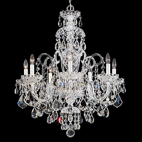 "Schonbek Olde World 25"" Wide Swarovski Crystal Chandelier"