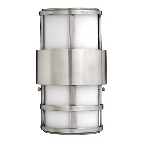 "Hinkley Saturn 12 1/2"" High Stainless Steel Outdoor Light"
