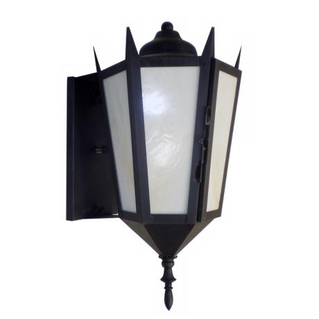 "Bronze Fluorescent 18"" High Outdoor Lantern"