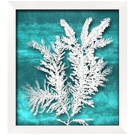 "Seaweed I 20 1/2"" High Coastal Giclee Wall Art"