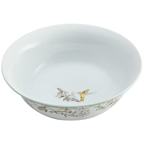 "BonJour Dinnerware Fruitful Nectar 10"" Round Serving Bowl"