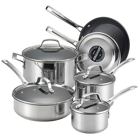 Circulon Genesis Nonstick 10-Piece Cookware Set
