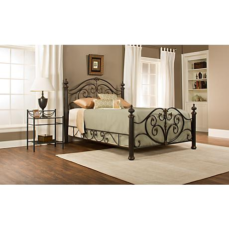 Grand Isle Brushed Bronze Beds