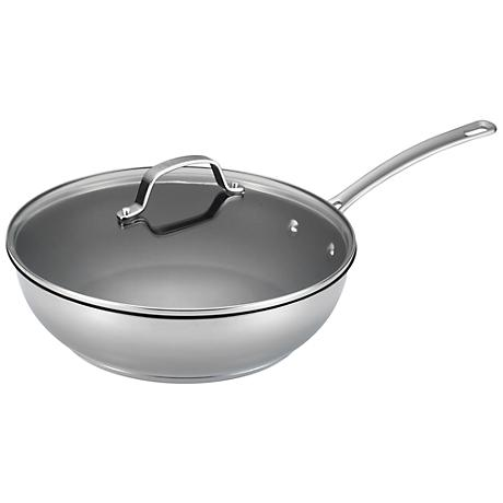 "Circulon Genesis Nonstick 12 1/2"" Covered Deep Skillet"