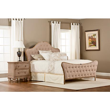 Jefferson Antique Beige Beds