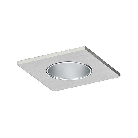 "CSL Eco-Downlight 2"" Haze Reflector Mini Satin Square Trim"