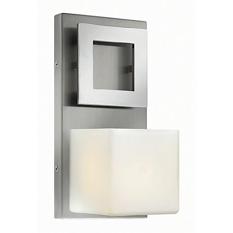 "Hinkley Mirage 10 1/4"" High Nickel and Chrome Wall Sconce"