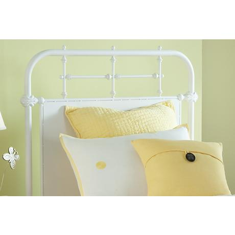 Hillsdale Kensington White Metal Headboards