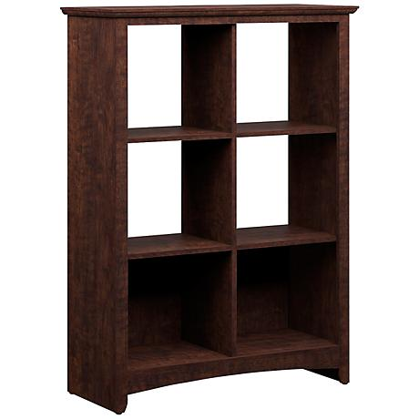 Buena Vista 6-Cube Madison Cherry Office Storage