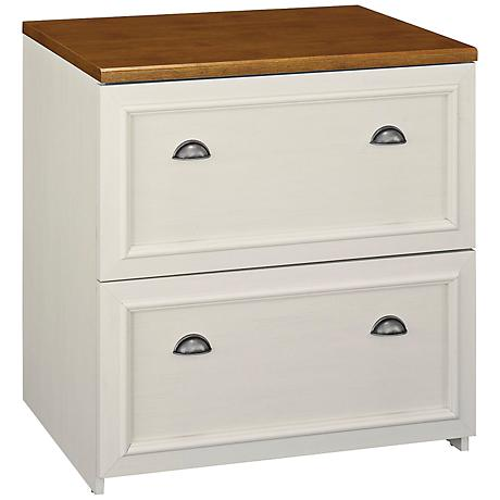 Fairview Antique White Lateral File