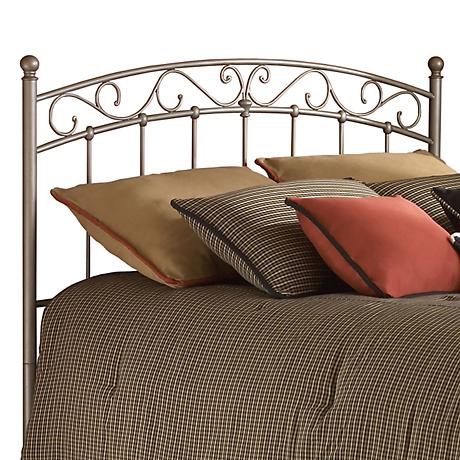Ellsworth New Brown Metal Headboards