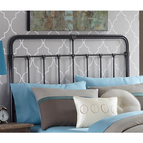 Fairfield Dark Roast Metal Headboards