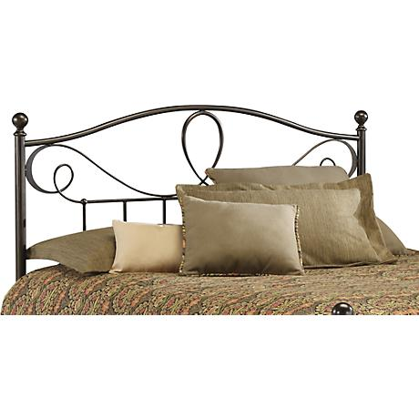Sylvania French Roast Metal Headboards