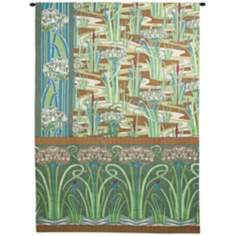 "William's Spring Garden 75"" High Wall Tapestry"