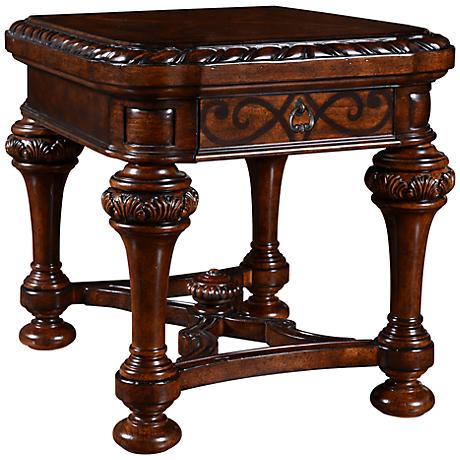 Valencia Dark Oak End Table