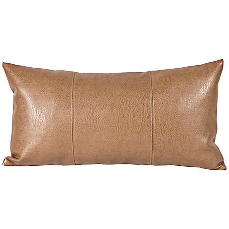 "Howard Elliott Avanti 22""x11"" Bronze Kidney Pillow"