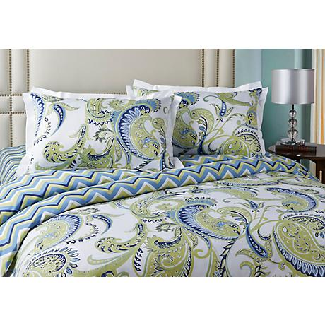 Plaza 3-Piece Cotton Sateen Duvet Set