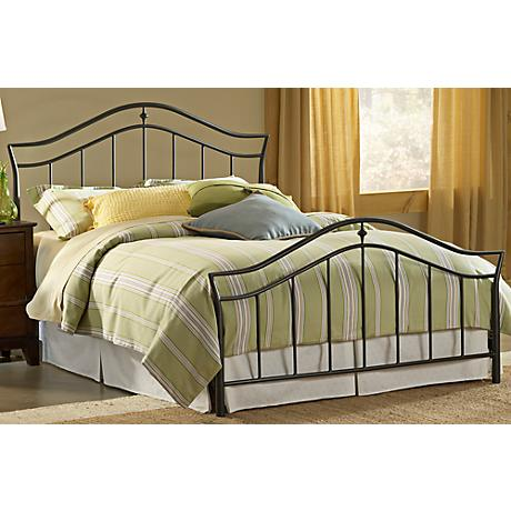 Hillsdale Imperial Twinkle Black Bed