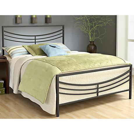 Hillsdale Kingston Arched Brown Bed